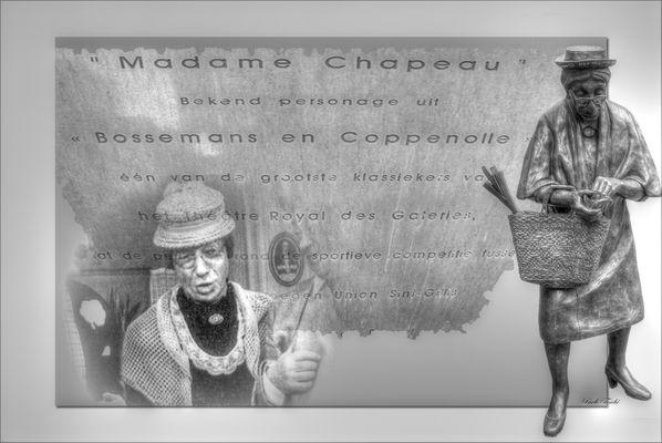.....Madame chapeau...