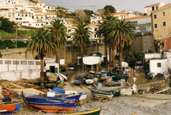 Madeira - Siesta der Bootsbauern