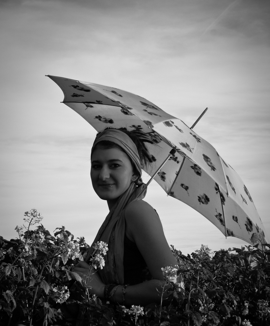 Mademoiselle umbrella.