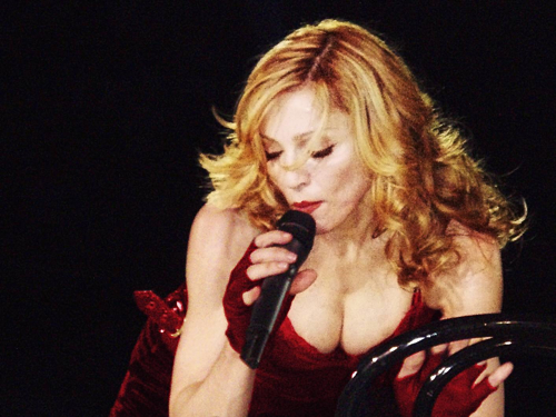 Madonna à Paris