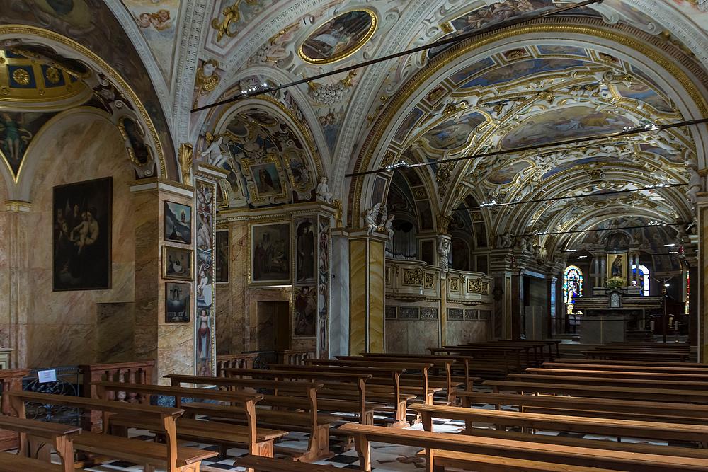 Madonna del Sasso - Innenraum