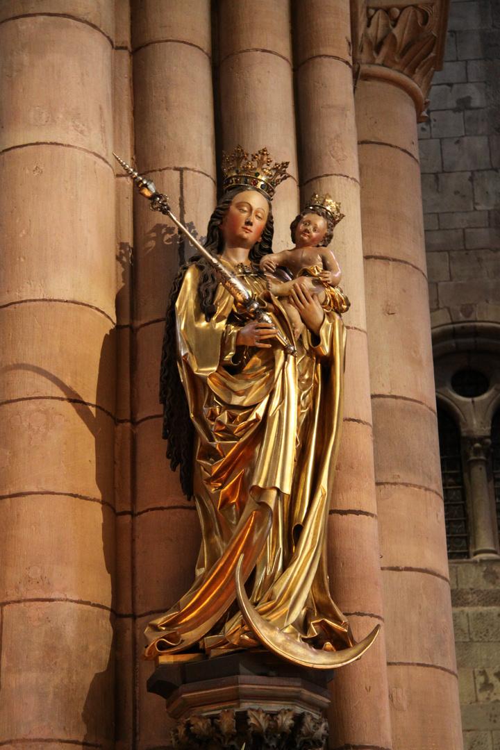 Madonna im Freiburger Münster