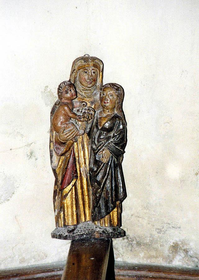 Madonna in der Kirche Groß Varchow