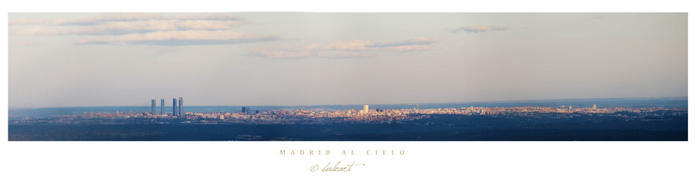 Madrid al cielo
