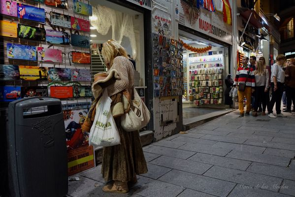 ...Madrid Calle Postas...