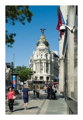 Madrid - Gran Via - Metropolis