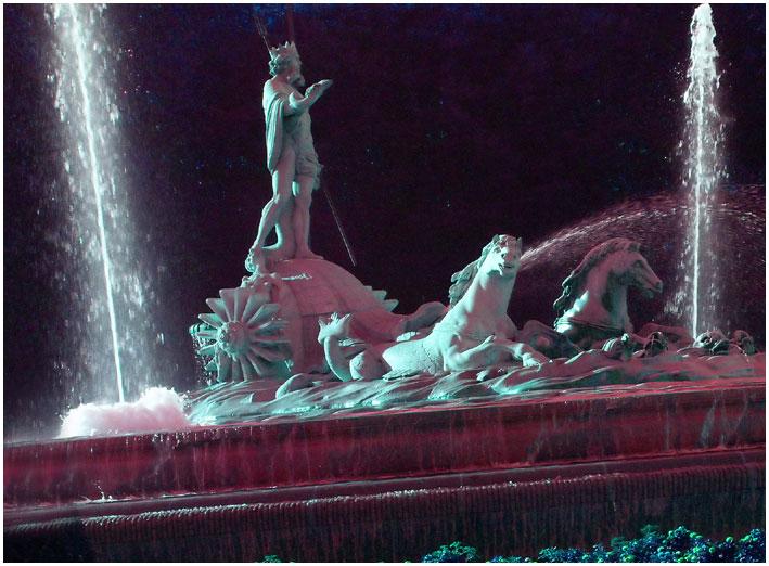 Madrid Neptun-Brunnen