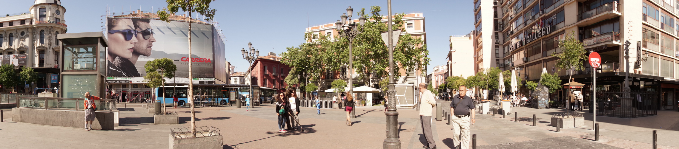 Madrid, Plaza de Santa Ana