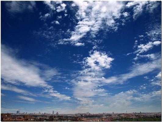 Madrid: vista panorámica