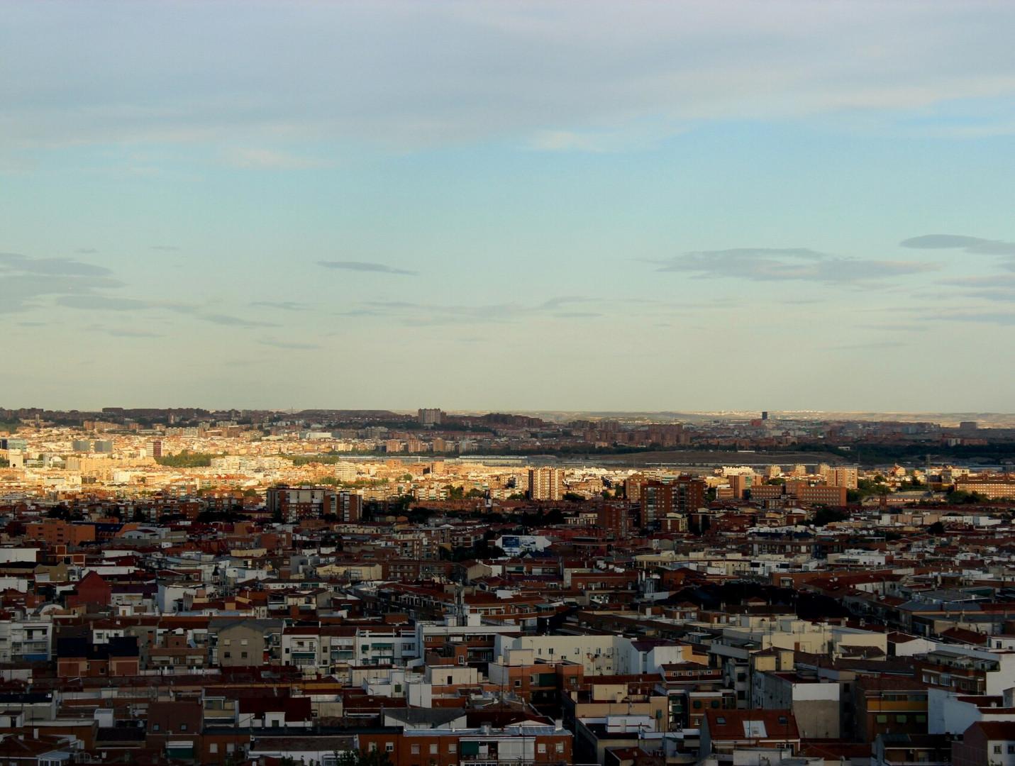 Madrid, zwischen Himmel und Backstein