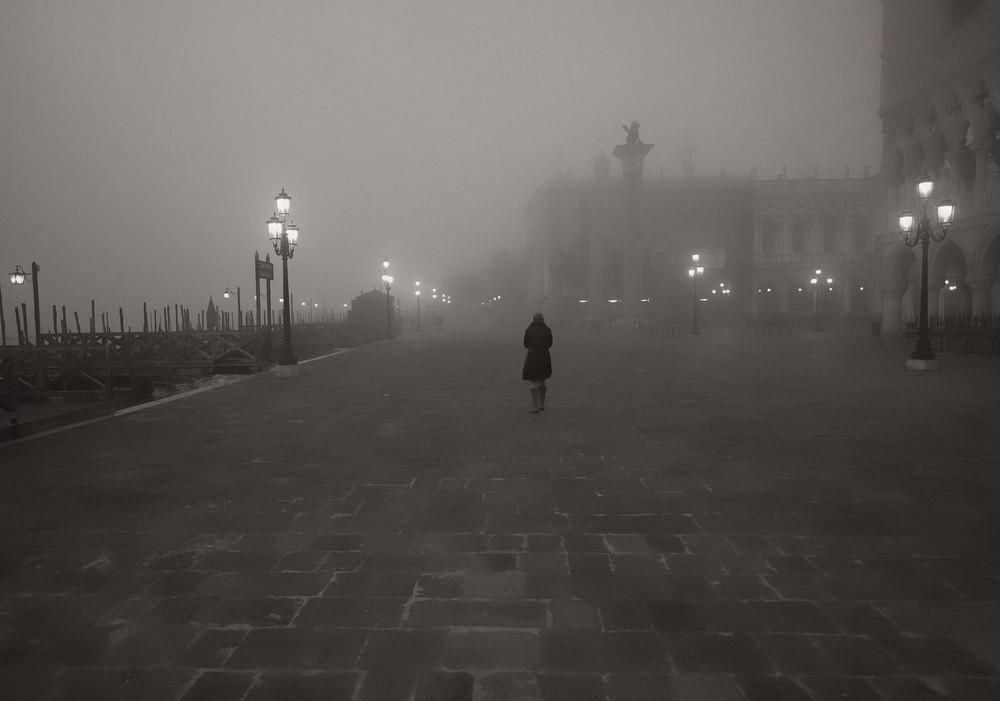Madrugada de niebla
