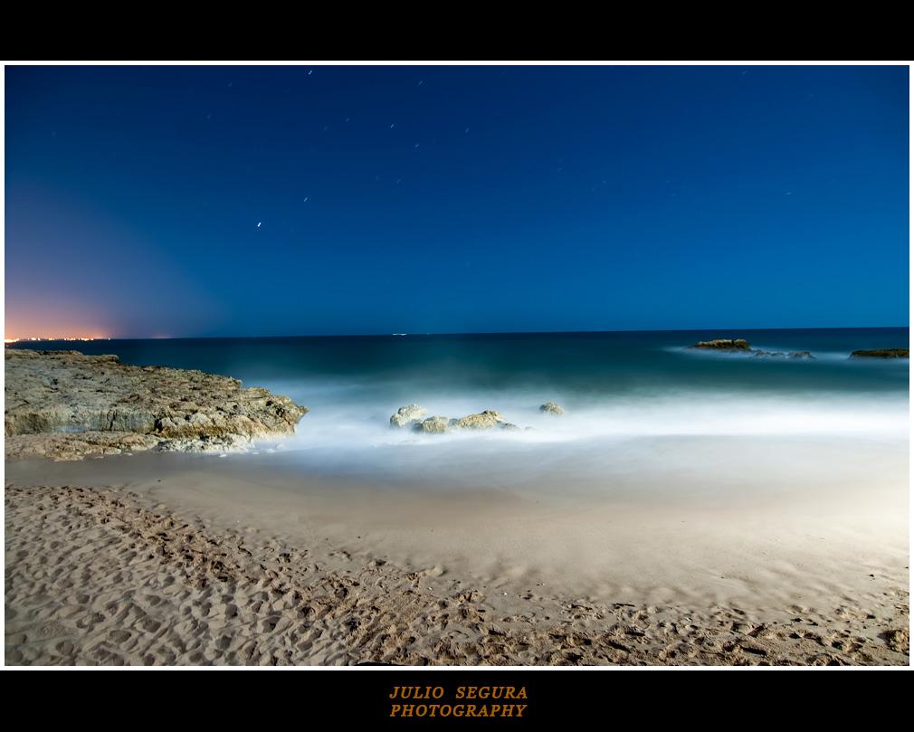 Madrugada en el Algarve (Portugal)