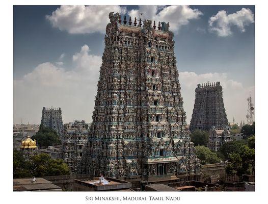 Madurai ~ Sri-Minakshi-Sundareshwara-Tempel