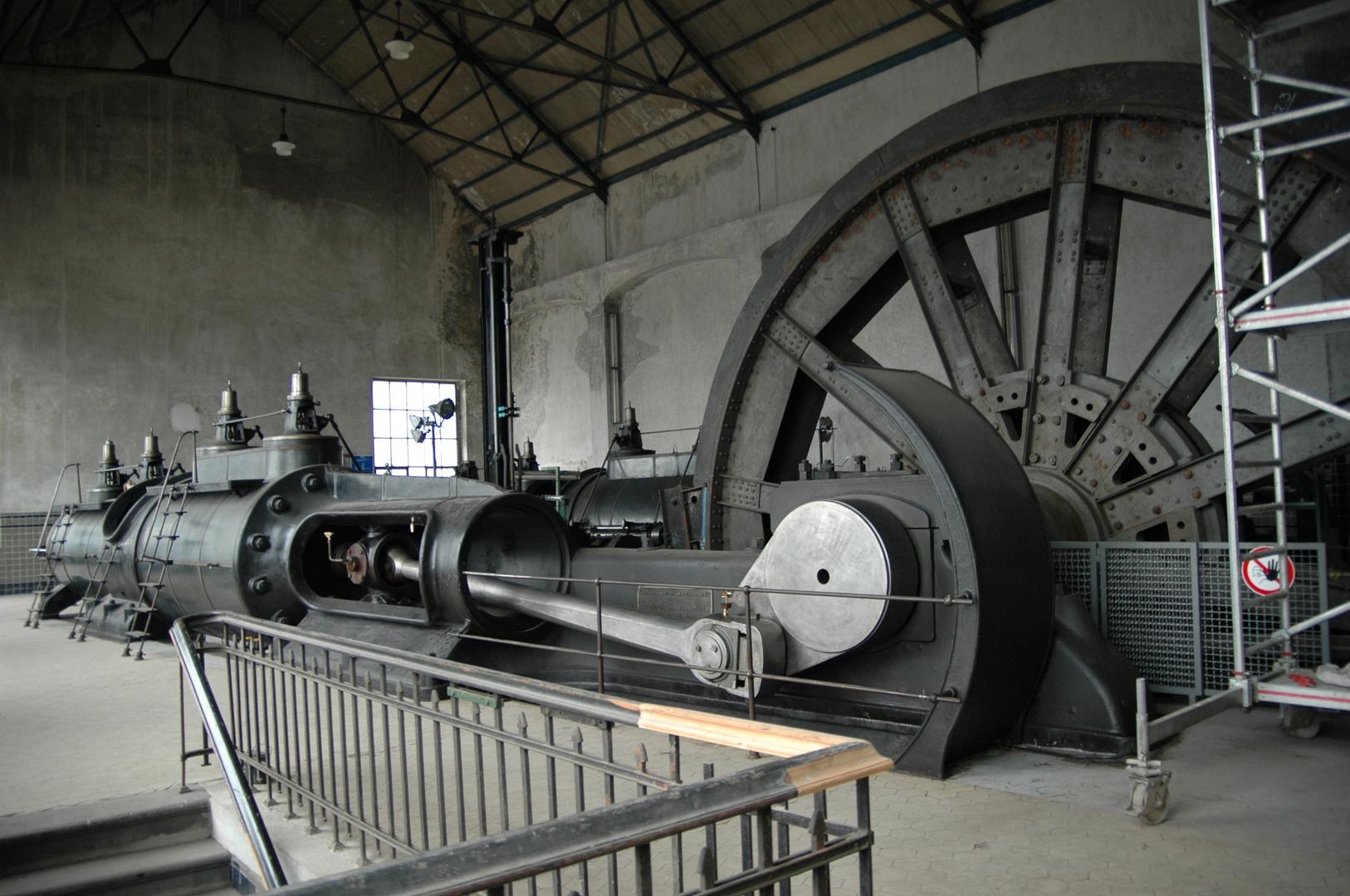 Mächtige Maschine