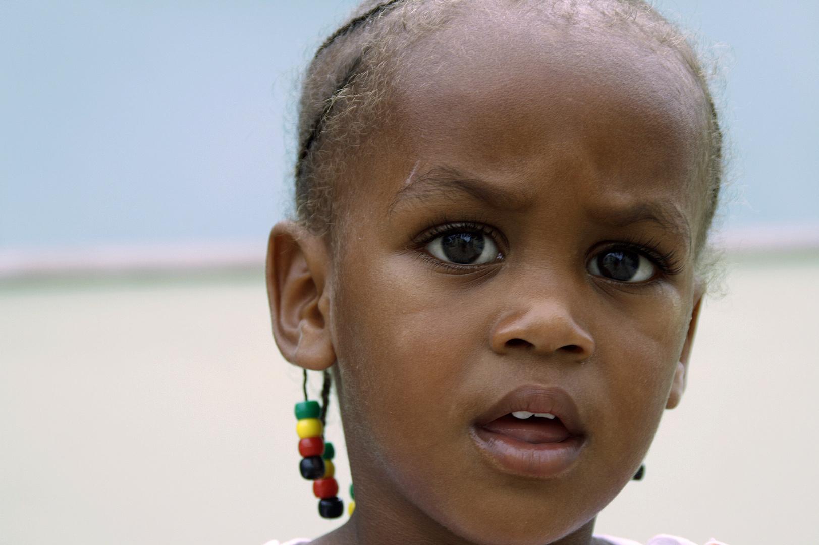 Mädchen auf Cap Verde