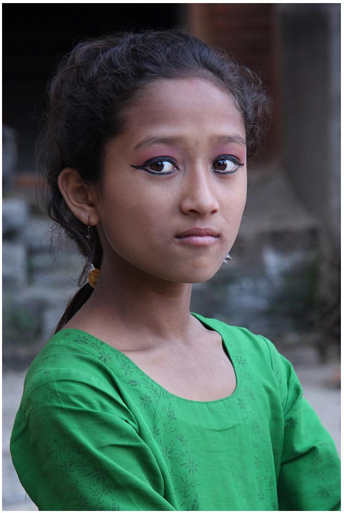 Mädchen aus Bhaktapur 02