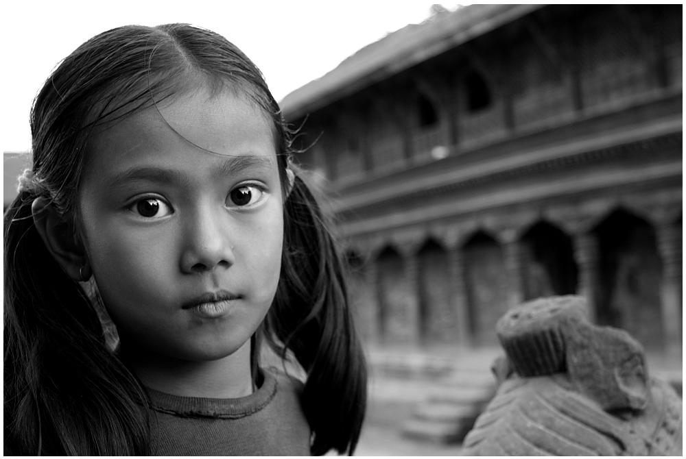Mädchen aus Bhaktapur