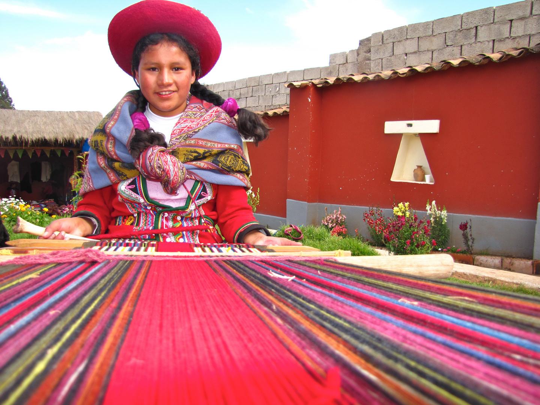 Mädchen aus Cusco