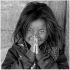 Mädchen aus Dankhar, Spiti, Indischer Himalaya 01