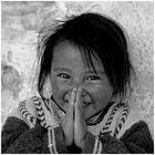 Mädchen aus Dankhar, Spiti, Indischer Himalaya 02