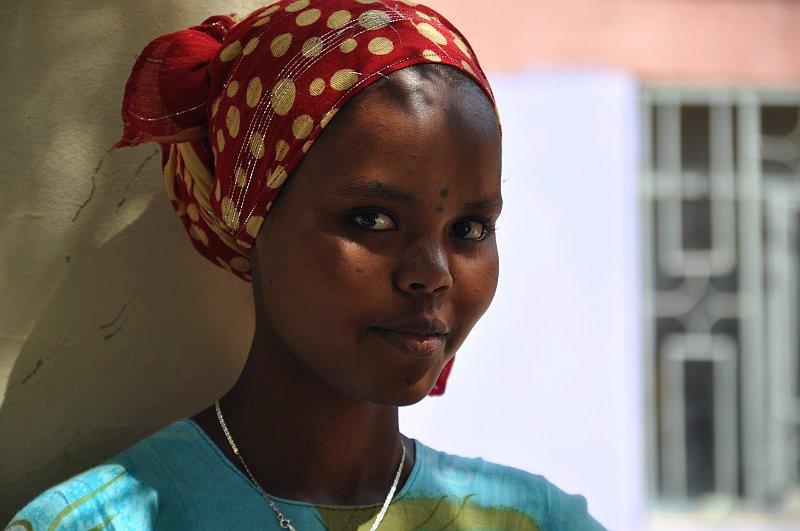 Mädchen aus Dire Dawa, Äthiopien