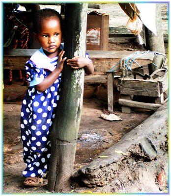 Mädchen aus Mombasa