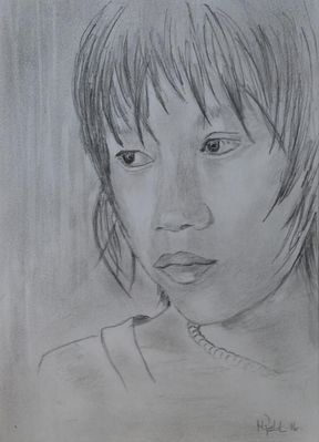 Mädchen aus Myamar