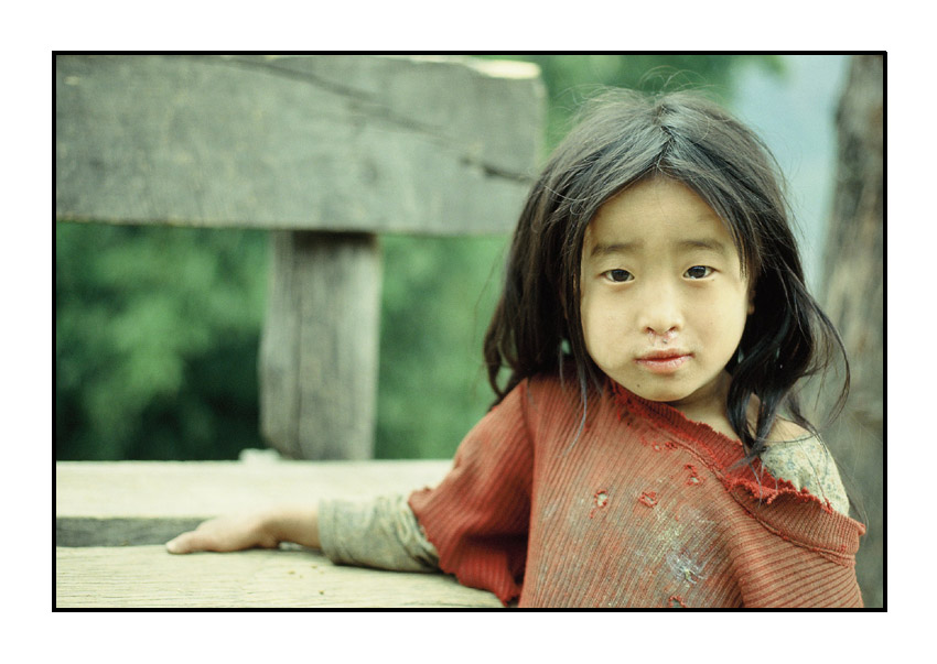 Mädchen aus Pelling, Sikkim