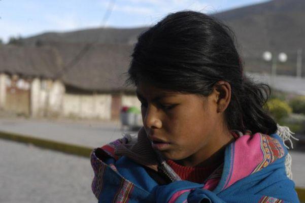 Mädchen aus Pisaq (Perú)