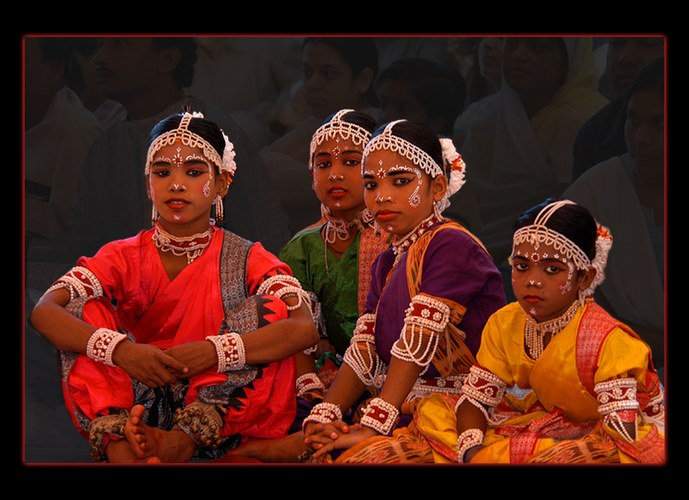 Mädchen aus Rajasthan