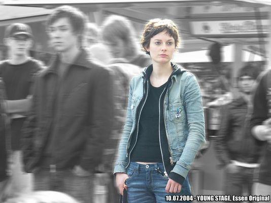 mädchen bei der young stage (Essen Original 2004)