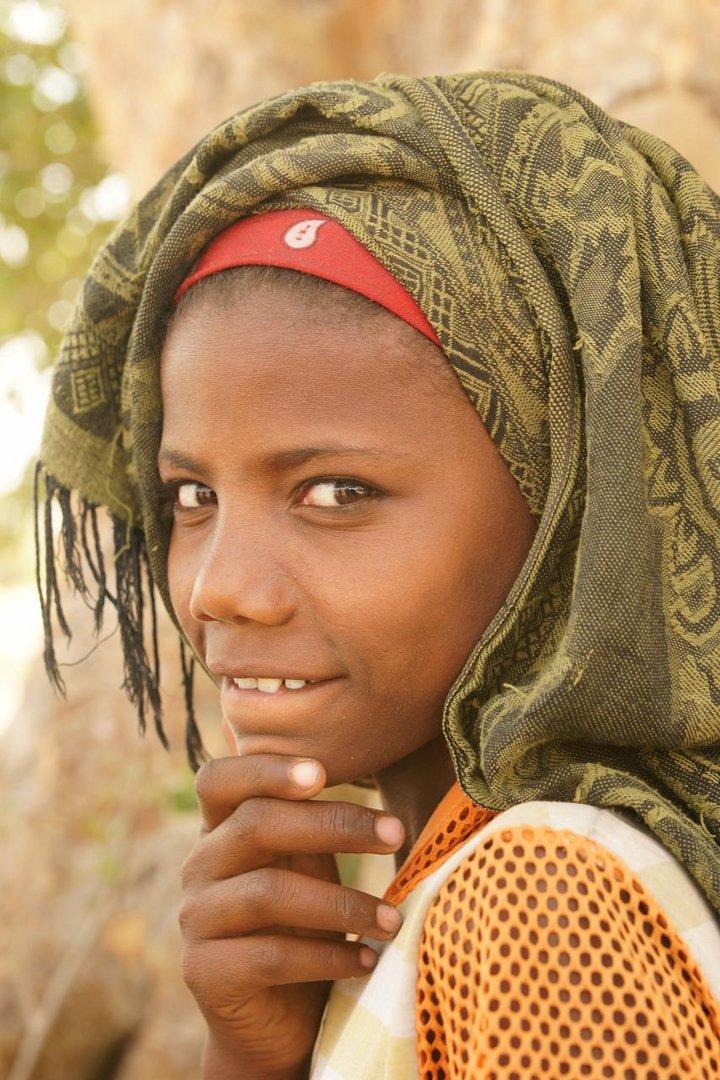 Mädchen in Äthiopien