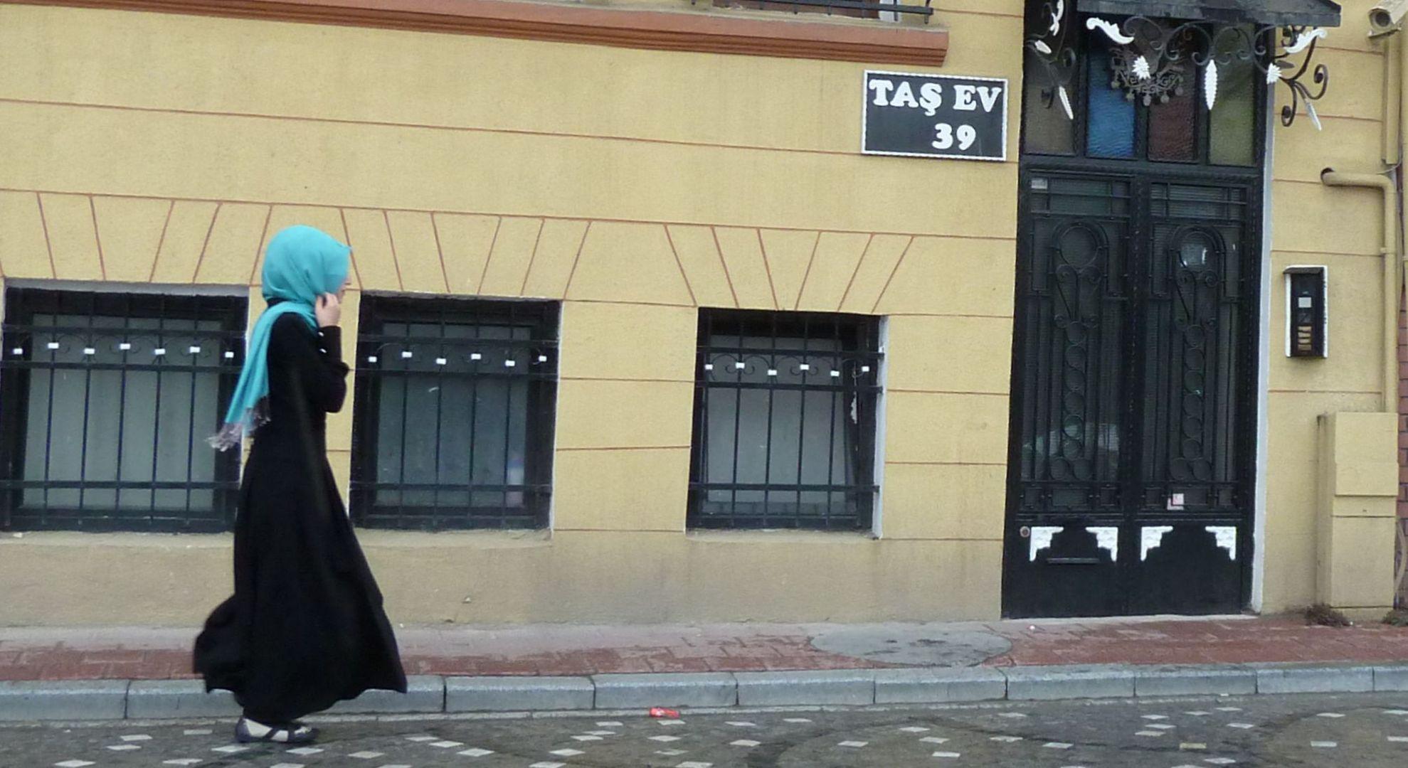 Mädchen in Istanbul