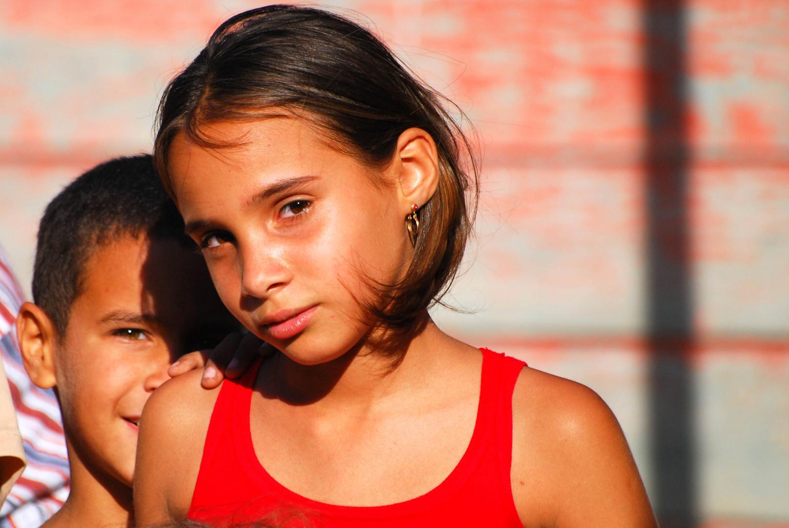 Mädchen in Kuba