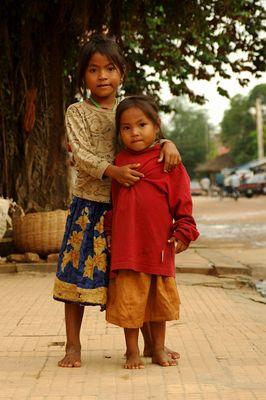 Mädchen in Siem Reap