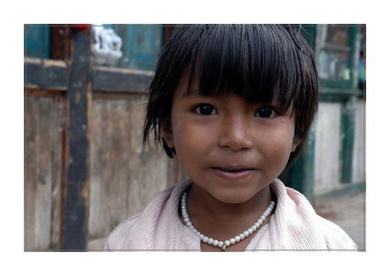 Mädchen in Thimpu