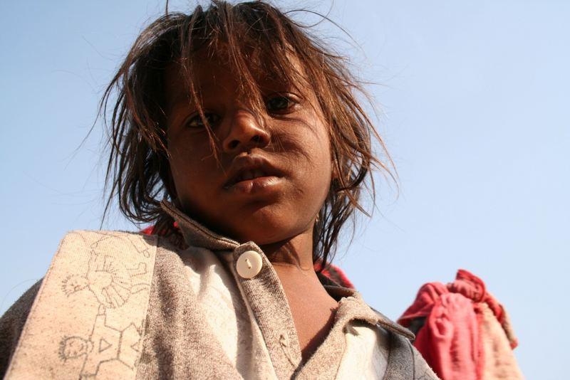 Mädchen in Varanasi