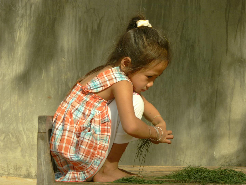 Mädchen in Vietnam