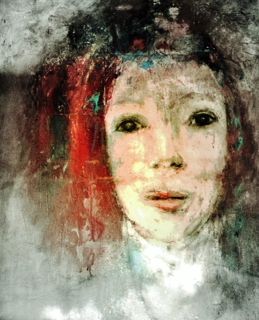 Mädchen mit rotem Haar