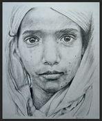 mädchen mit sari