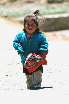 Mädchen Peru