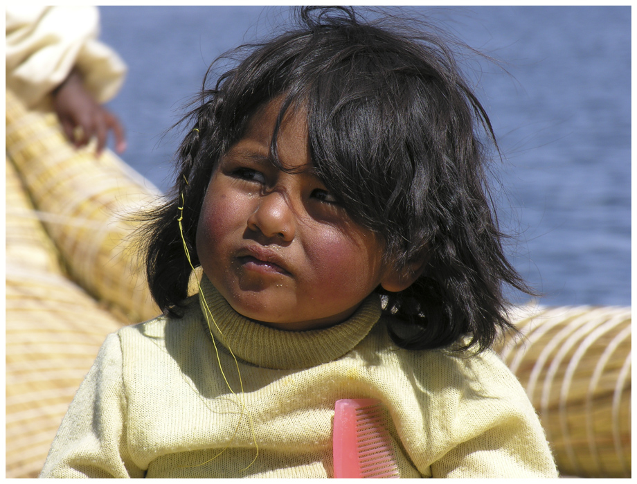 Mädchen von den Uro Inseln