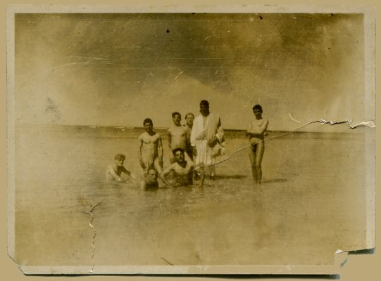 Männer im Meer - Kramtag-Beitrag