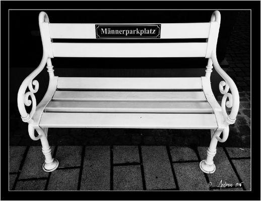 Männerparkplatz