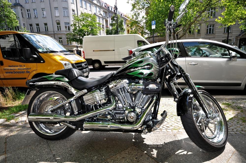 Männerträume in Chrom und Tradition....., Harley-Davidson