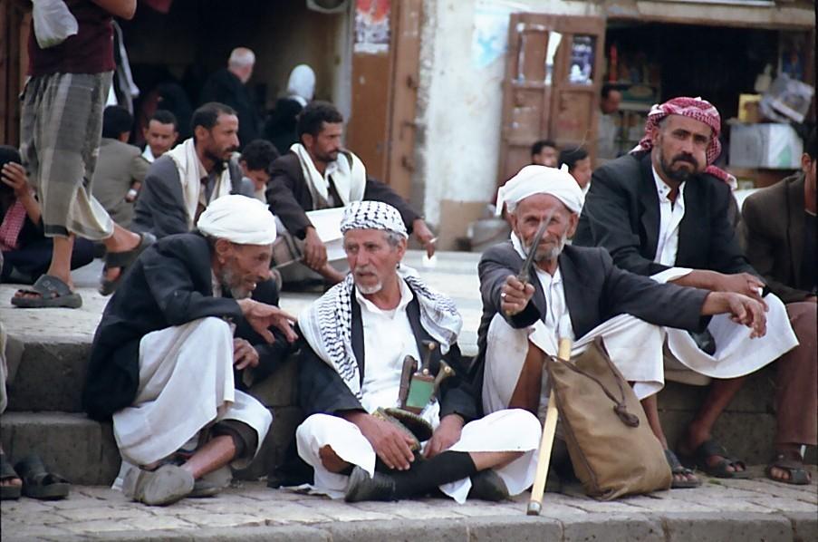 Männerwelt (Sana'a, Jemen)