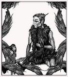 ...männliche Harpyie, melancholisch, sich und dem Weltschmerz überlassen...