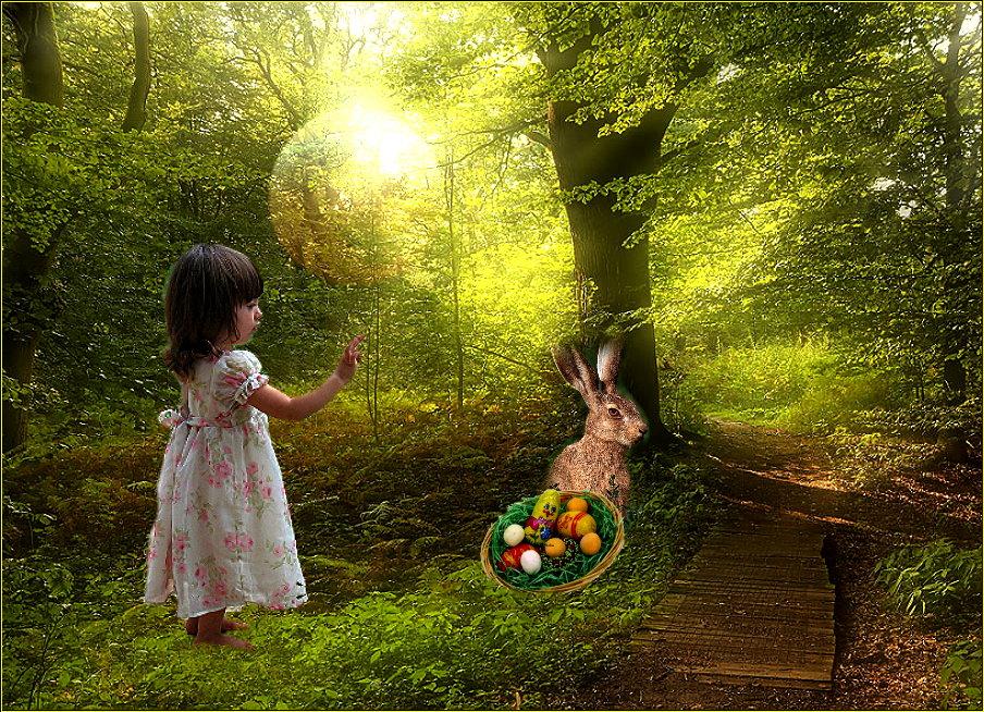 Märchenhafte Ostern für Euch die wünsche ich Euch allen!