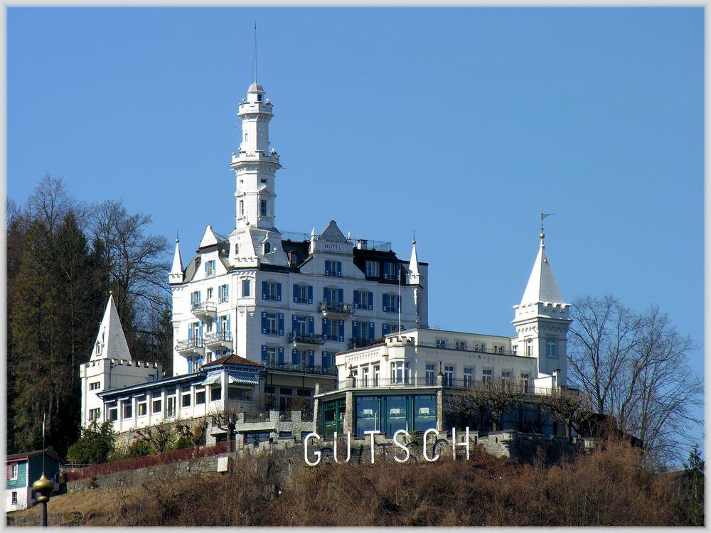 märchenhotel über luzern