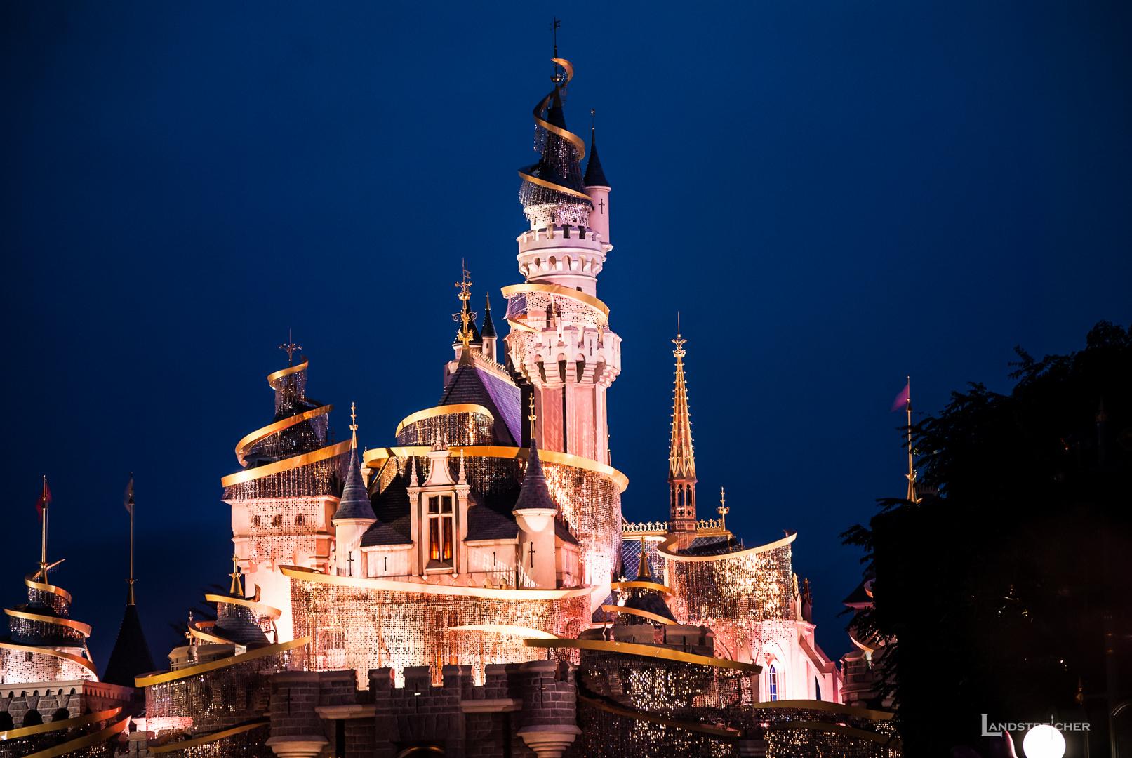 Märchenschloss im Disneyland Hong Kong
